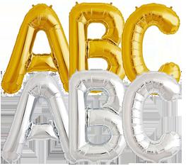 Μπαλόνια γράμματα λέξεις