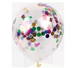 Μπαλόνια με κομφετί