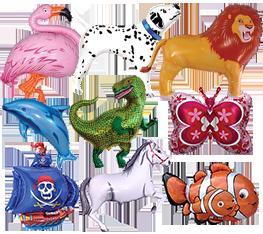 Μπαλόνια ζωάκια και διάφορα