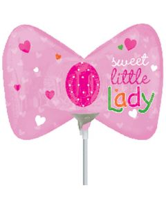 Anagram balloons 9 inch sweet little lady