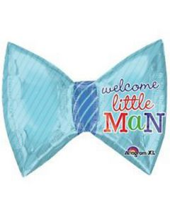 Anagram balloons 9 inch welcome little man