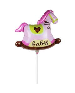 Balloon minishape Horse girl ND
