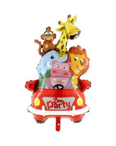 Μπαλόνι Grabo supershape Animals car-Zoo party