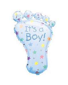 Anagram balloons Supershape foot It's a boy