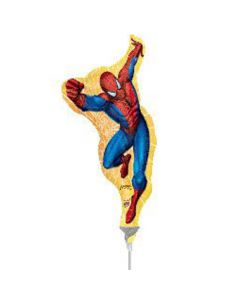 Anagram balloons minishape spiderman 9 inch