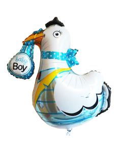 Balloon stork it's a boy BF