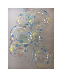 Balloon 24 inch dots around bubble