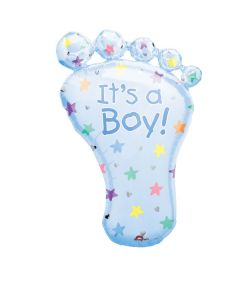 Anagram balloons 9 inch it's a boy foot