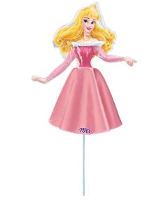 Anagram balloons princess with dress 9 inch Pink