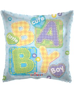 Balloon foil 18 inch cute little boy ND