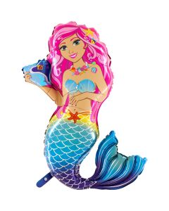 Balloon mermaid supeshape Grabo