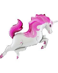 Unicorn supershape Grabo pink color