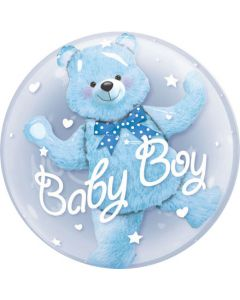 Balloon foil insider baby boy Bf packed