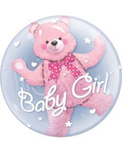 Balloon foil insider Bf baby girl packed