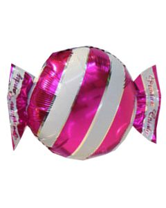 Balloon foil Bf candy fucshia packed