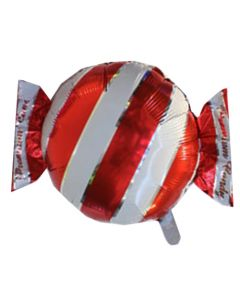 Balloon foil candy red packed