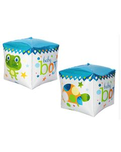Balloon supershape Cube boy ND