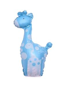 Balloons giraffe light blue BF ND