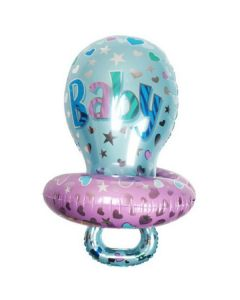 Balloon supershape pacifier boy ND