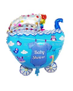 Balloon Supershape stroller shower boy ND