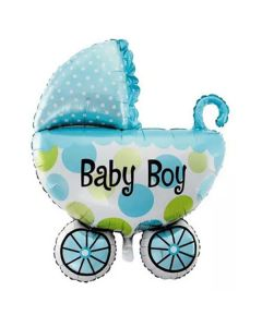 Balloon foil supershape stroller baby boy