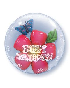 Bubble διπλό Birthday Flower ND