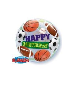 Bubble μονό Birthday Sport Balls ND