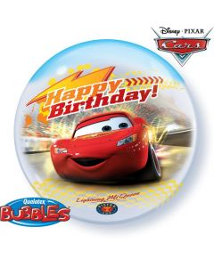 Bubble μονό Cars Birthday ND