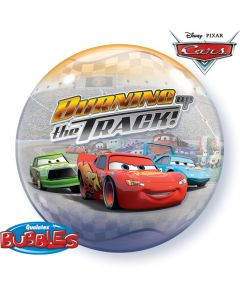 Bubble  Cars Burning up the track