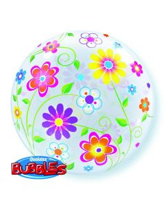 Bubble μονό Spring Floral Patterns ND
