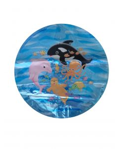 Μπαλόνι 18 inch foil dolphins happy birthday ND