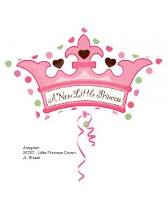 Balloons Anagram New little princess supershape