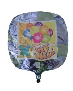 Μπαλόνι 18 inch foil Get well square ND