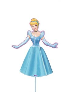 Anagram balloons princess with dress 9 inch