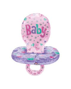 Anagram balloons Supershape pacifier Girl