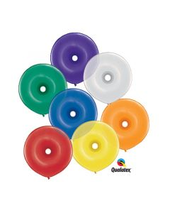 Qualatex Μπαλόνια Geodonut mix assortment 16 inch 50 τεμάχια ND