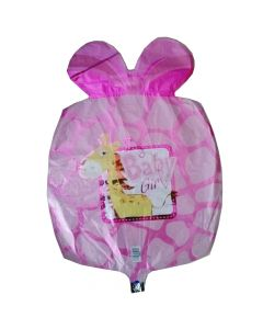 Μπαλόνι 18 inch foil Baby girl giraffe ND