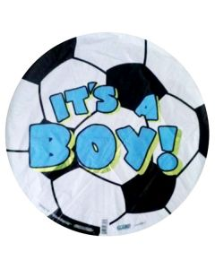 Balloons foil ball its a boy 18 inch