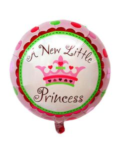 Balloon 18 inch round New Little princess ND