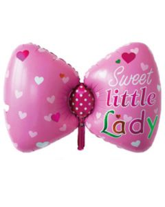 Balloon sweet little lady butterfy