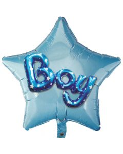 Balloon 36 inch star multiballoon BOY