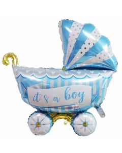 Balloon Foil stroller, It's a boy