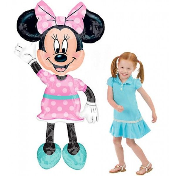 Μπαλόνια Anagram Airwalker Minnie mouse