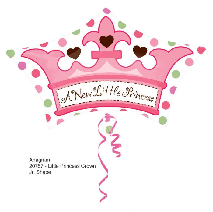 Μπαλόνια Anagram New little princess supershape